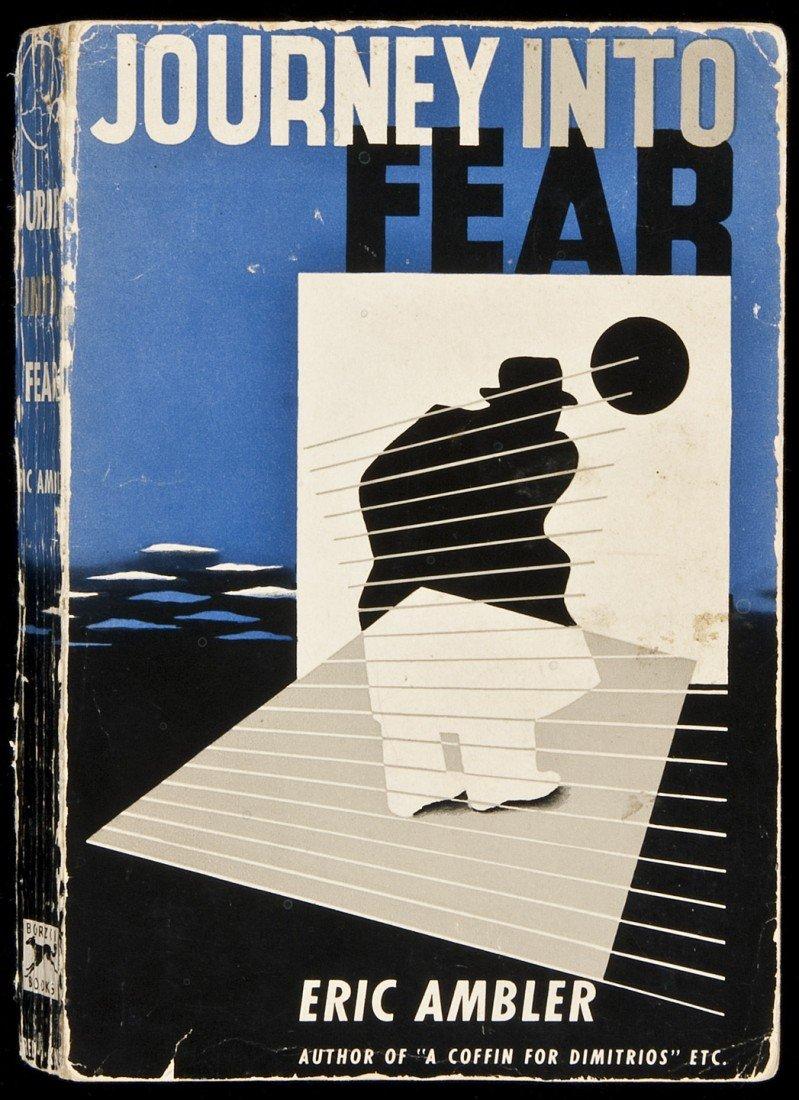 8: Journey Into Fear Advance proof copy