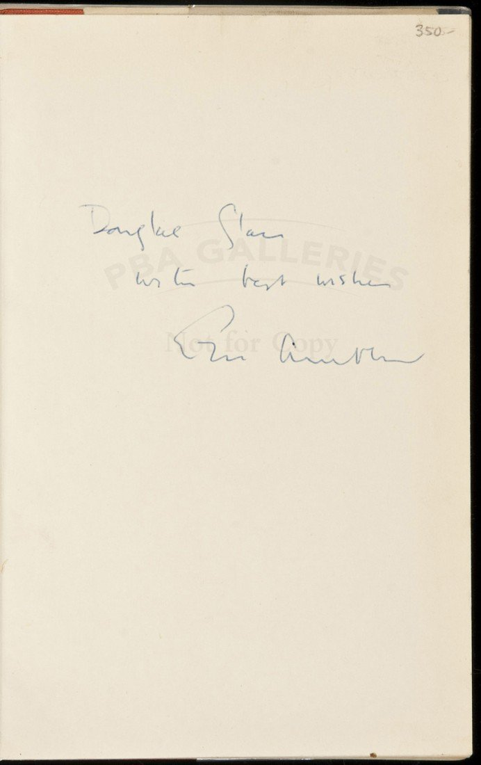 11: The Night-Comers inscribed by Eric Ambler 1st