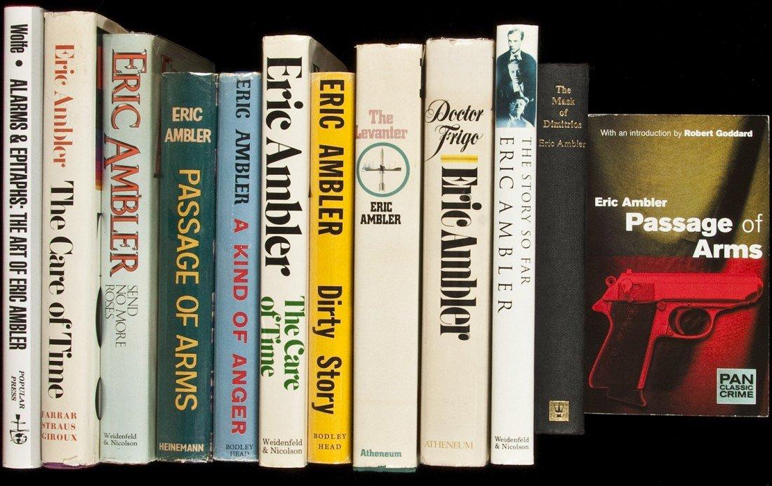 15: 24 novels by Eric Ambler