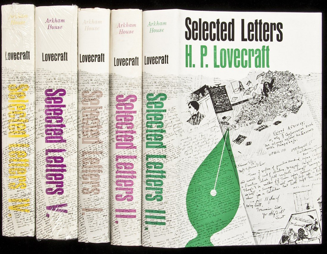 18: H.P. Lovecraft Selected Letters, Vols 1 through 5