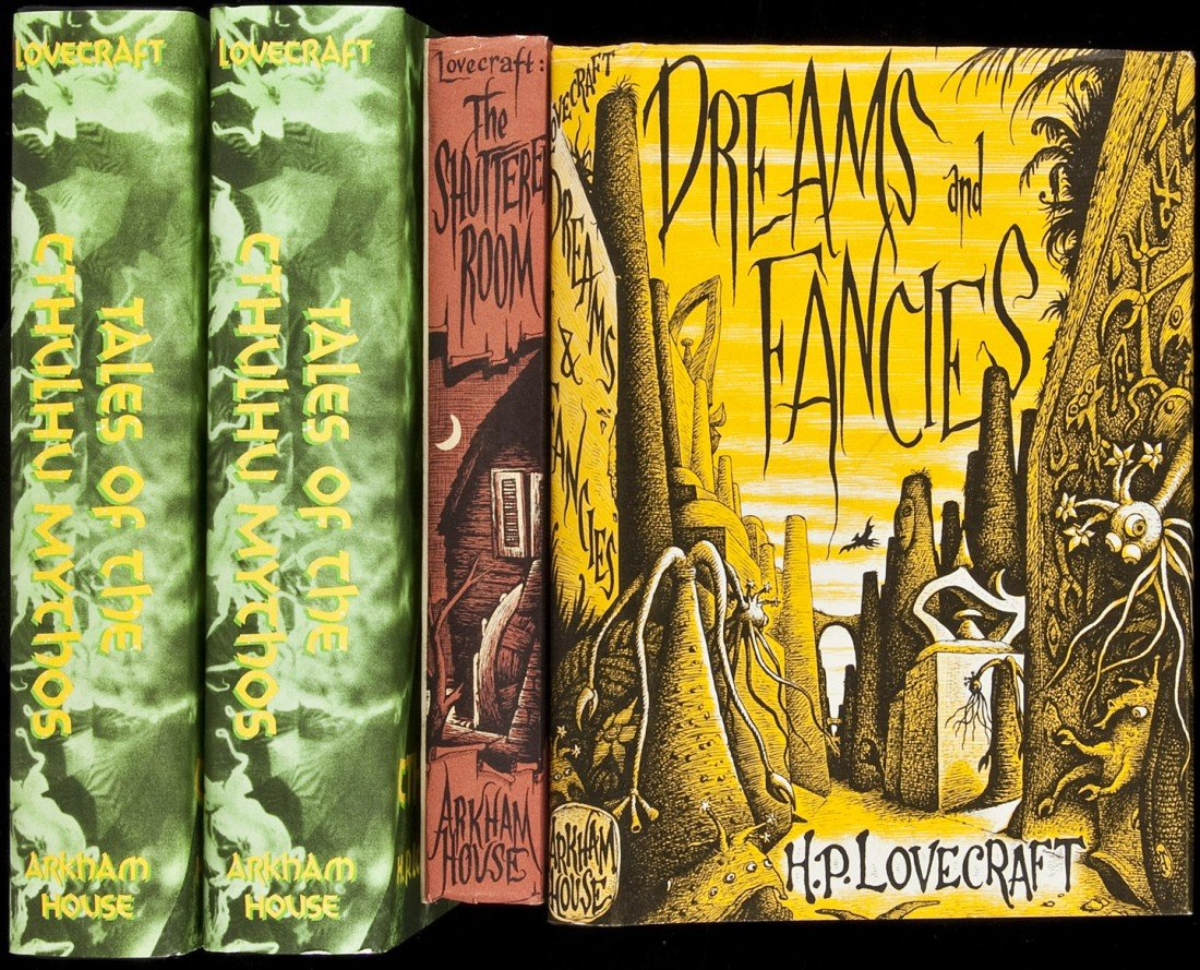 19: Three titles by H.P. Lovecraft plus one duplicate