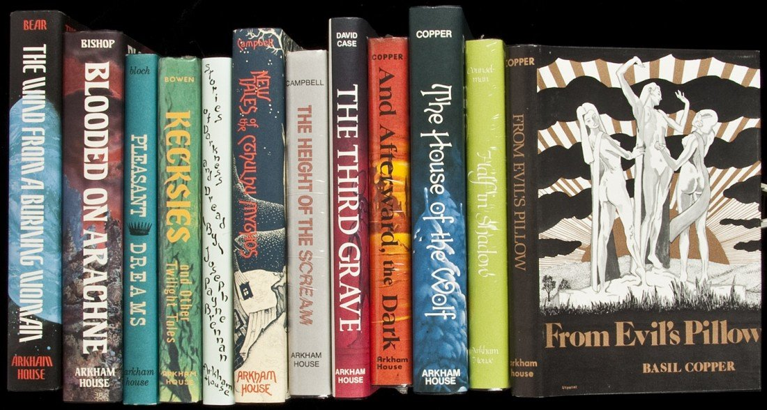 21: Twelve volumes published by Arkham House
