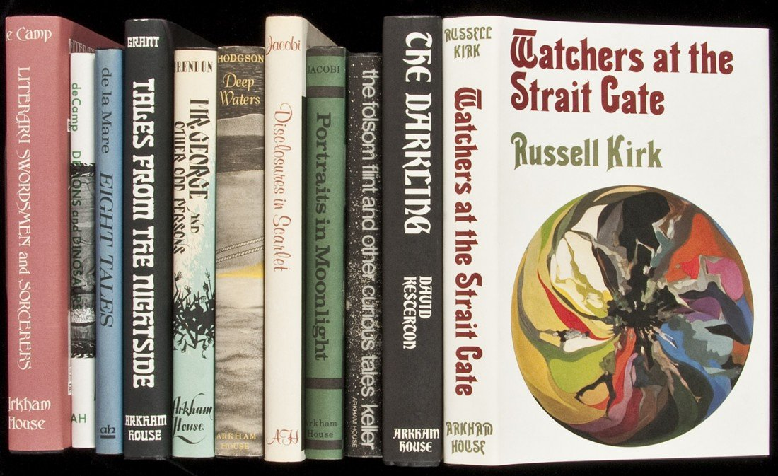 22: Eleven volumes published by Arkham House