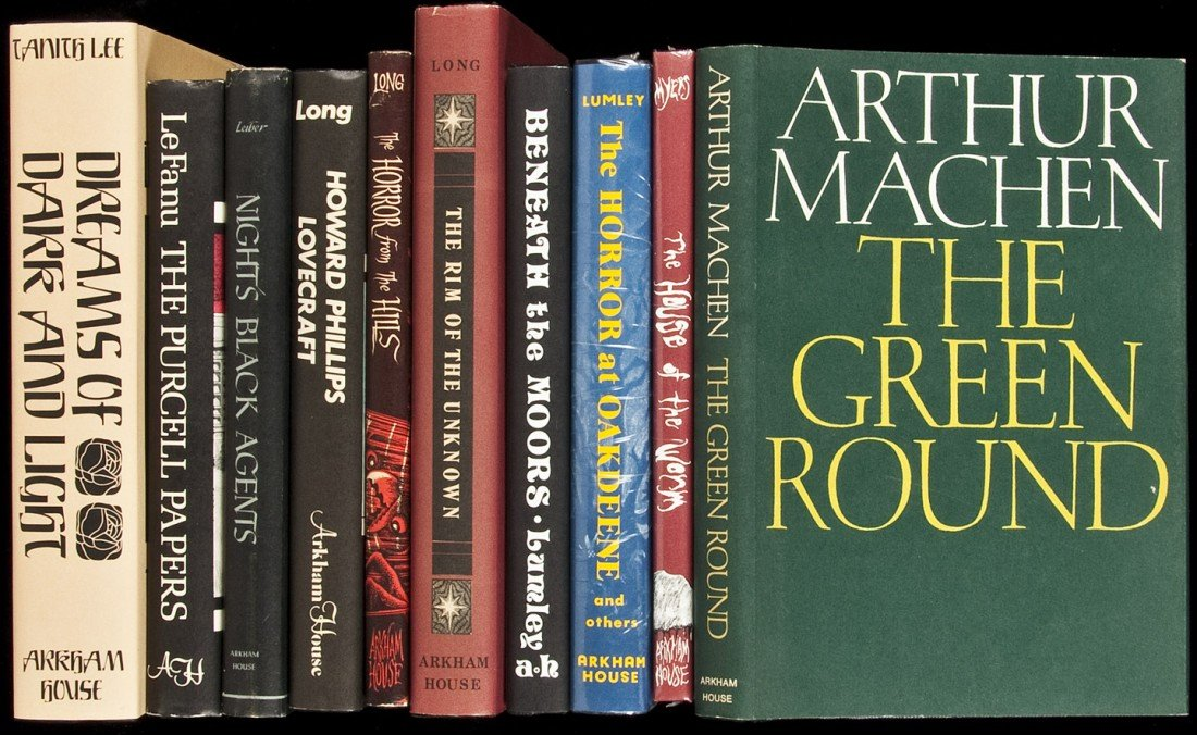 23: Ten volumes published by Arkham House