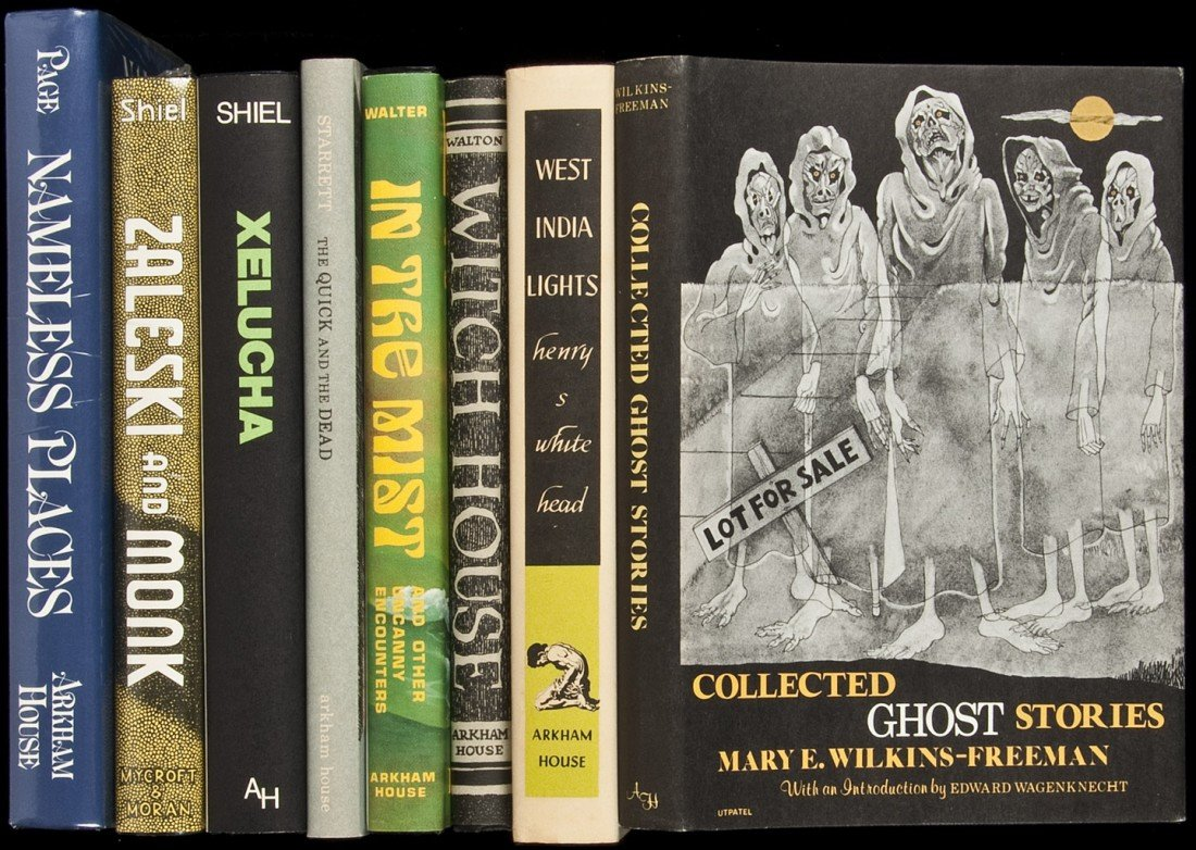 24: Eight volumes published by Arkham House