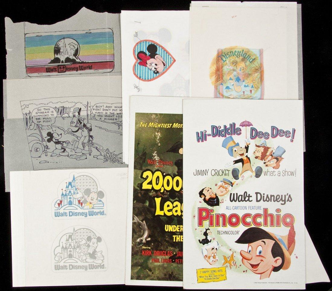 247: Walt Disney archive animation cels, product art