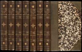 388 Bancrofts History of the US Finely Bound