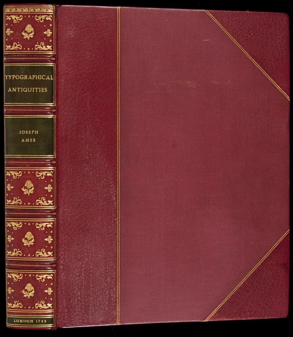 4: Ames' Typographical antiquities 1749