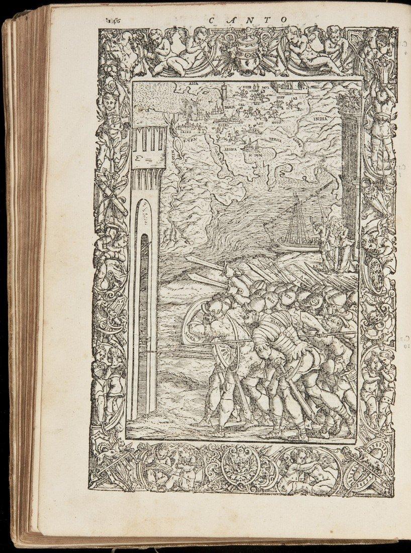 7: Ludovico Ariosto Orlando Furioso 1556 Edition