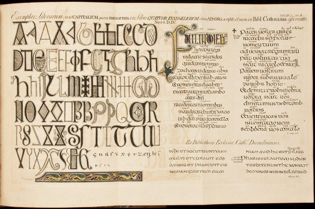 11: Origin & Progress of Writing by Astle 1803 2d ed