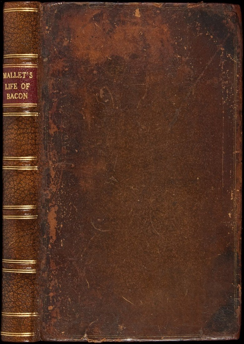 16: Life of Francis Bacon by Mallet 1740