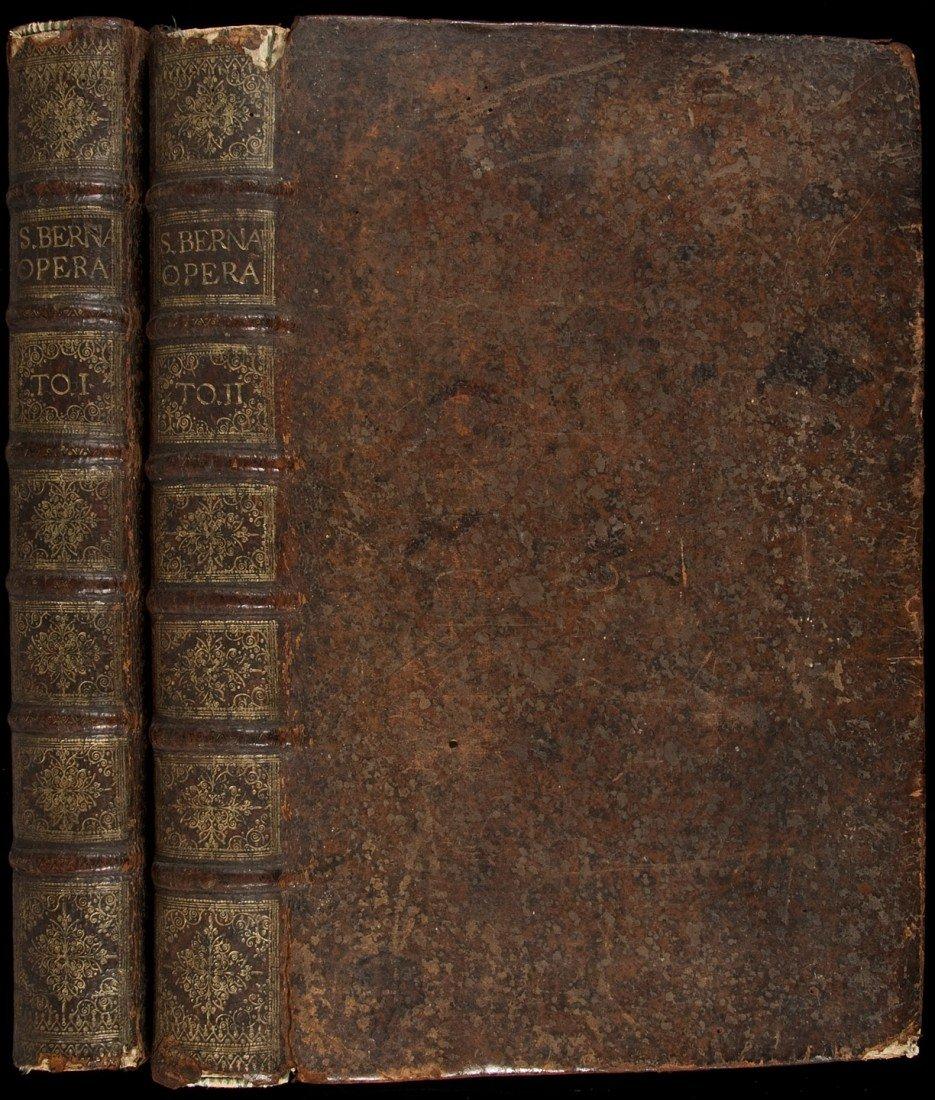 22: Works of Saint Bernard 1658 edition