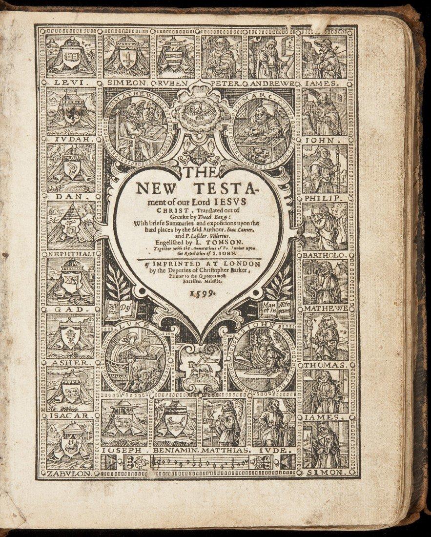 23: 1599 Barker Bible