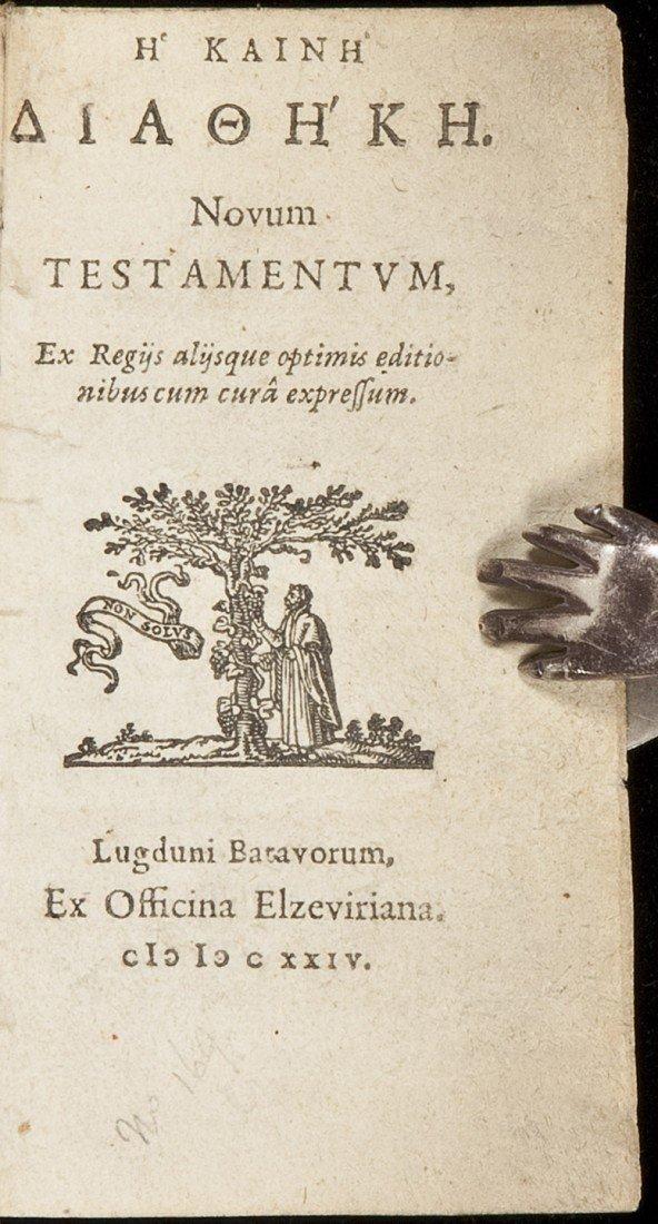 24: Novum Testament - New Testament in Greek 1624