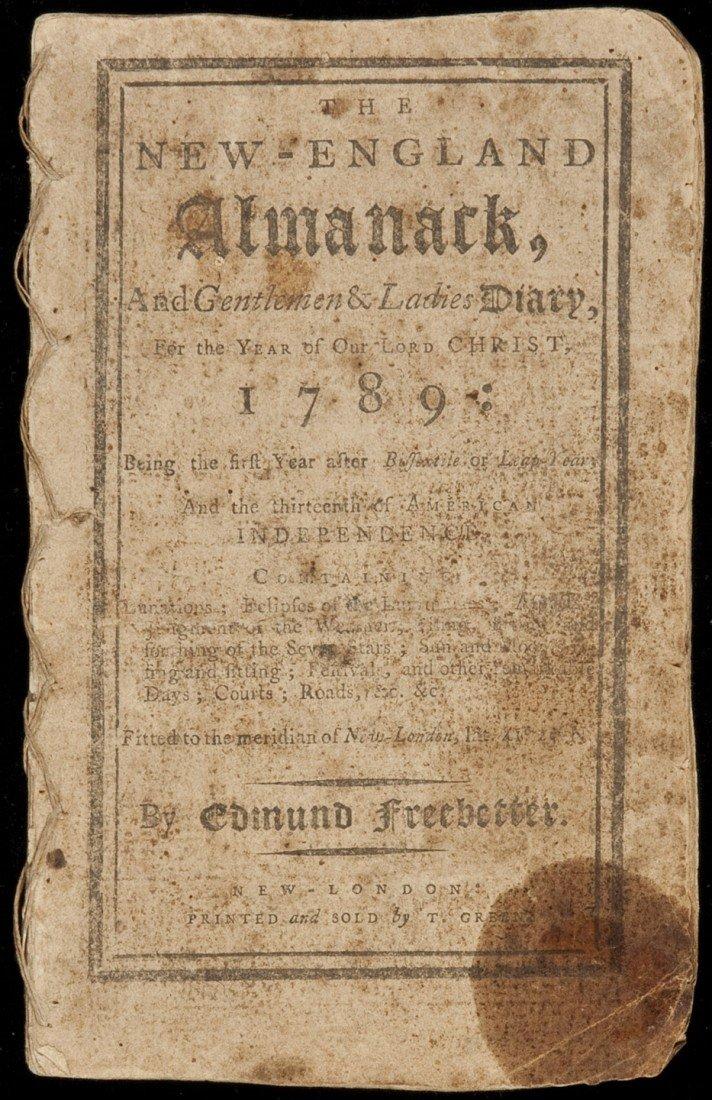 5: New England Almanack for 1789