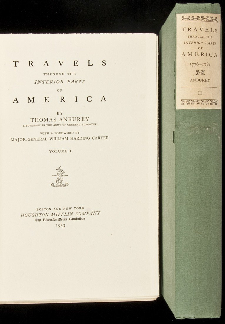6: Travels Through the Interior Parts of America