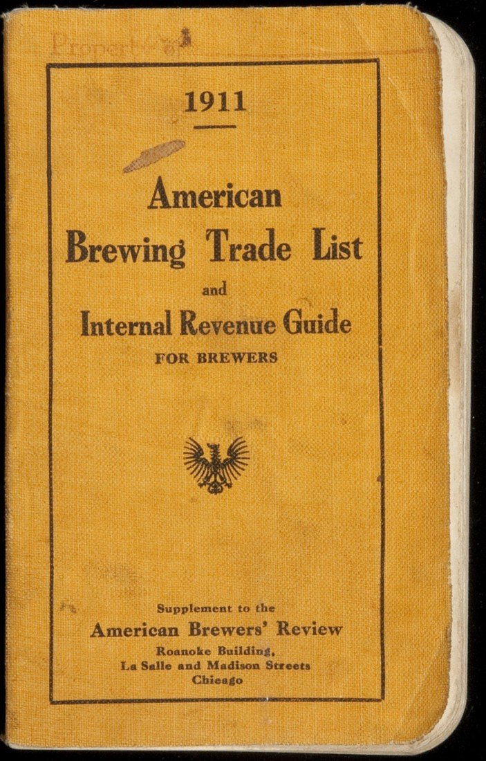 9: American brewing trade list 1911