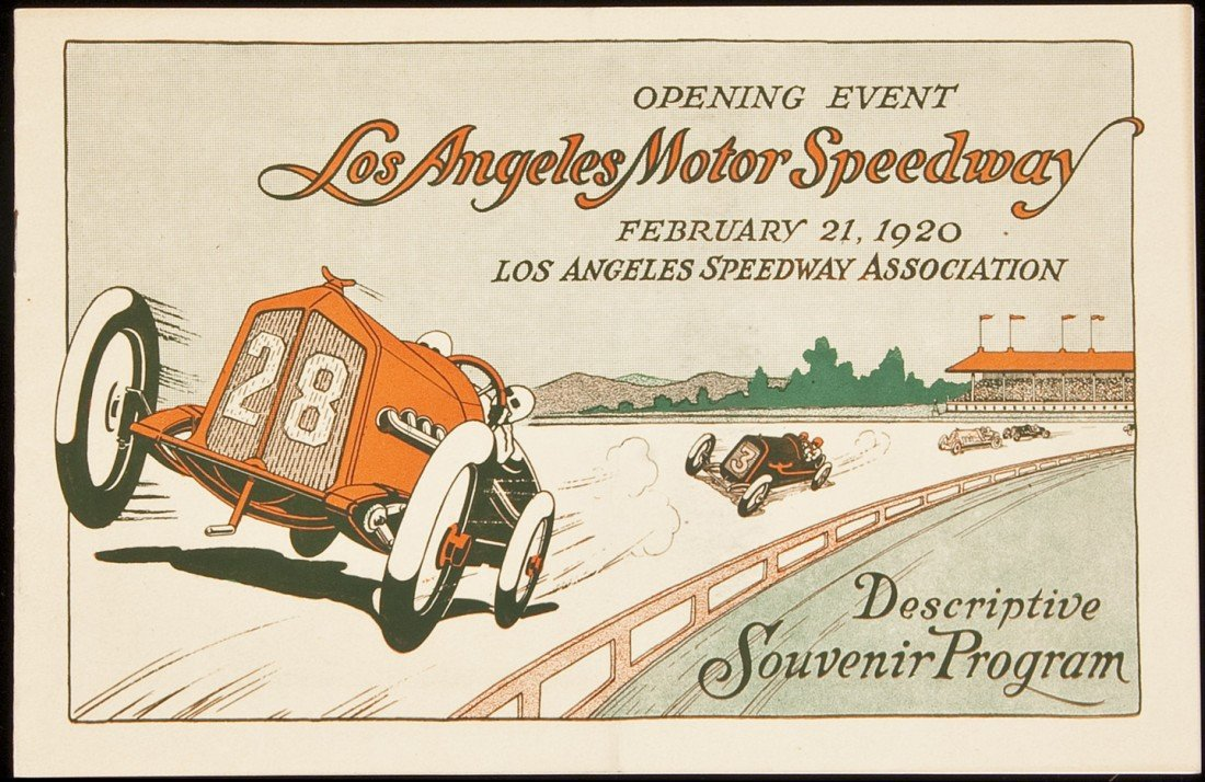 18: Opening event at L.A. Motor Speedway 1920
