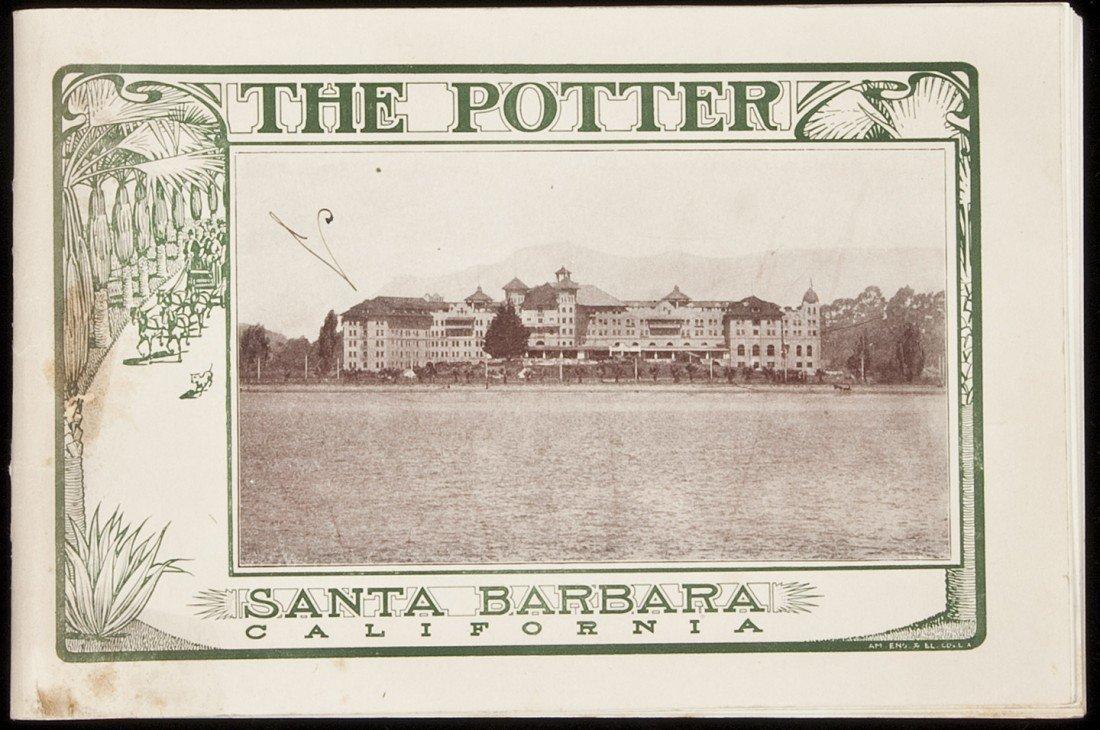 24: Brochure for Potter Hotel Santa Barbara