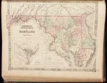 251 Johnsons New Illustrated Family Atlas 1866