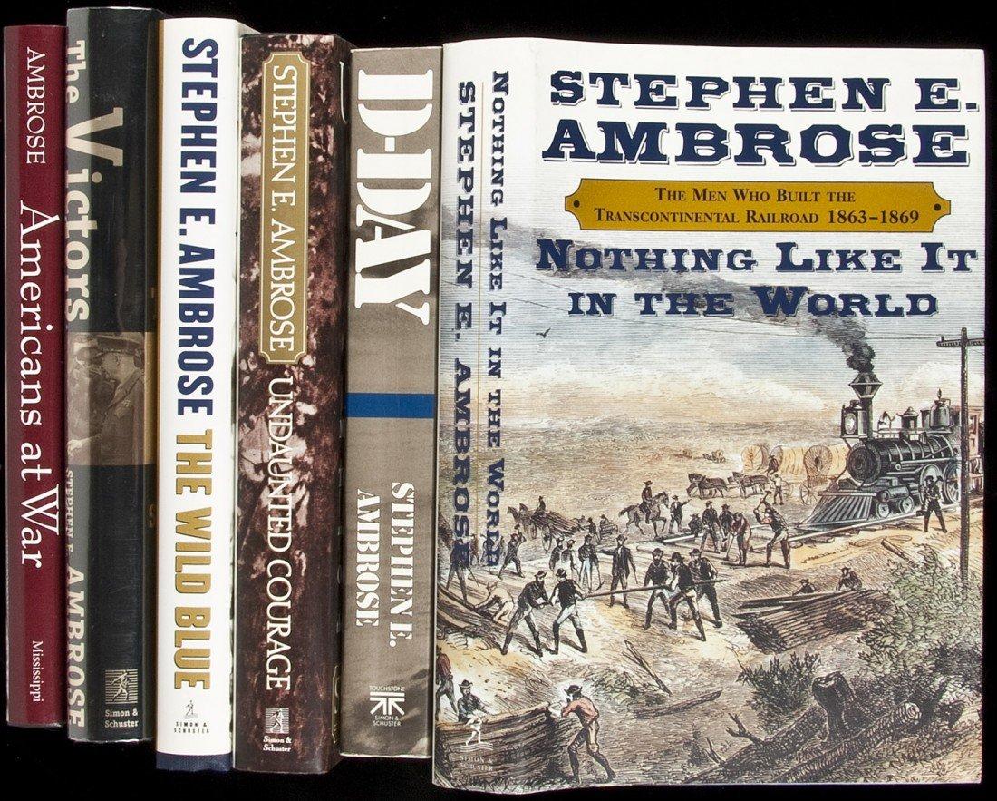 4: Six volumes by Stephen E. Ambrose