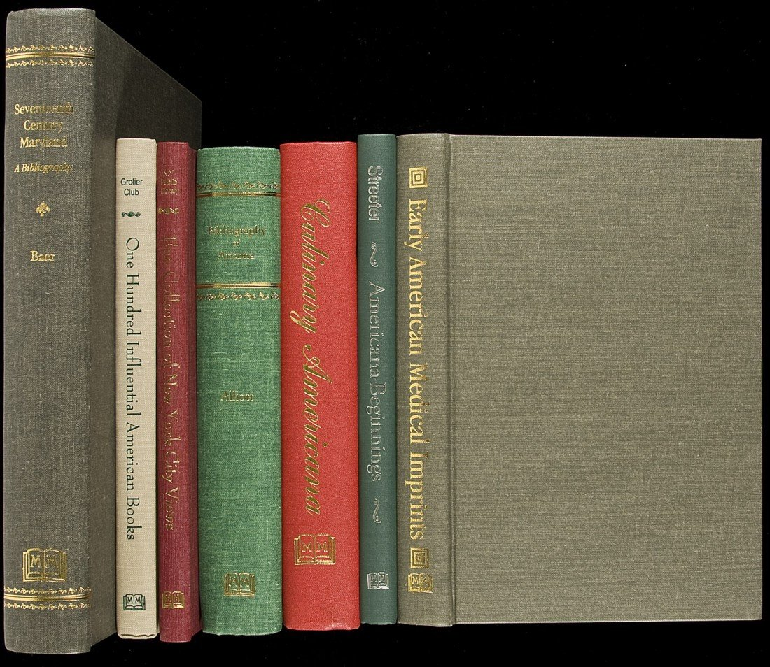 13: 12 Americana reference books from Martino Pub