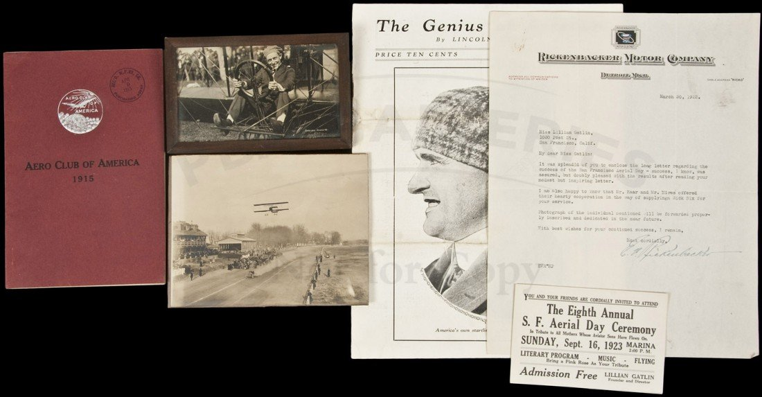 21: Lillian Gatlin Aviation Archive