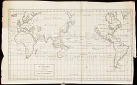 298 Anson World Chart California an island 1748