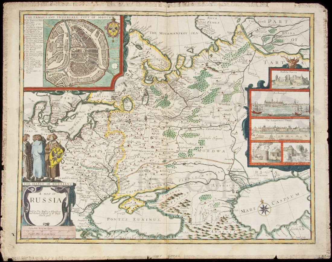 386: Speed map of Russia 1676