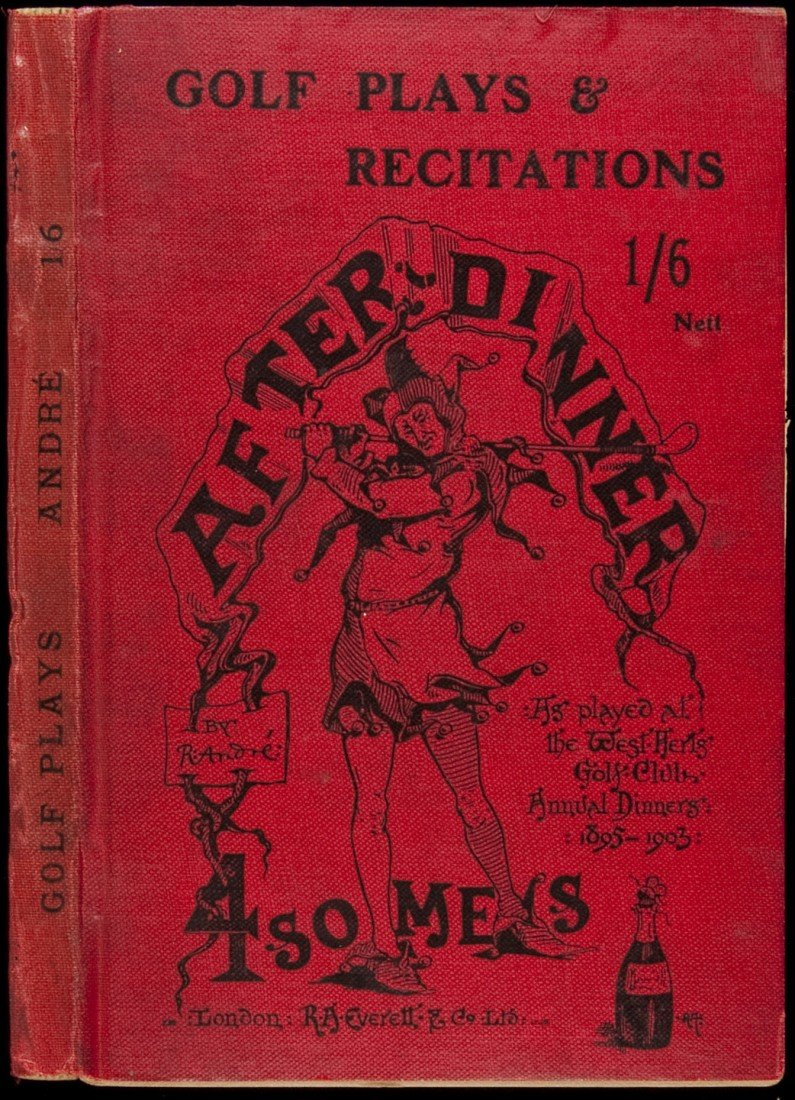 6: Golf Plays and Recitations 1903-04 by R. Andre