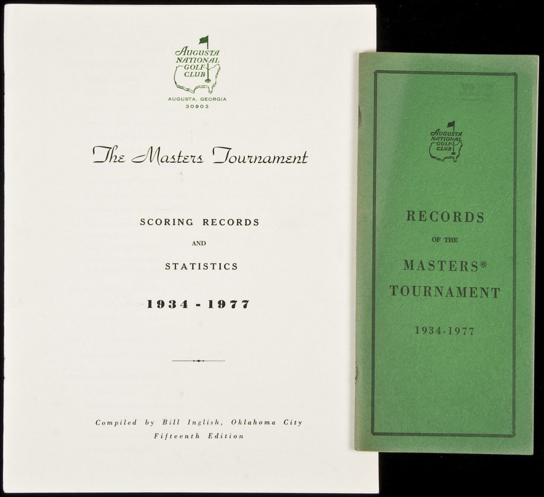 13: Records of the Masters Tournament, 1934-1977