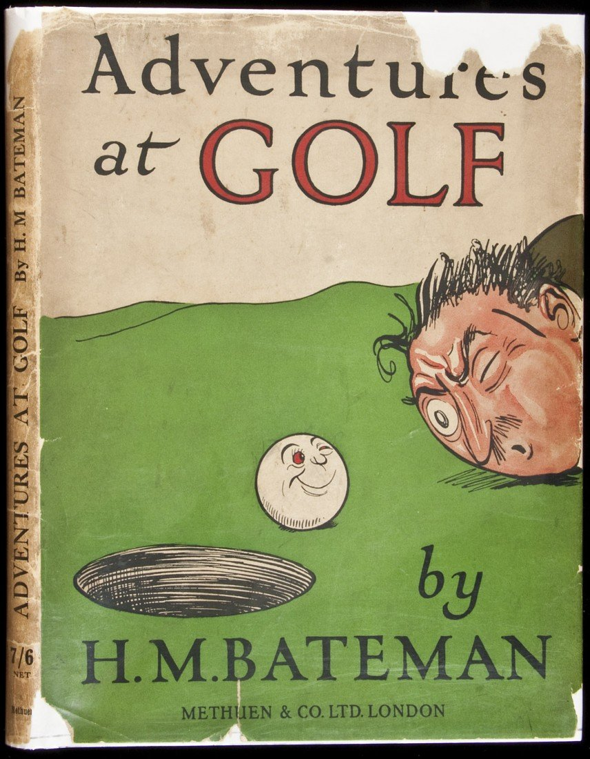23: Adventures at Golf 1st ed in dj