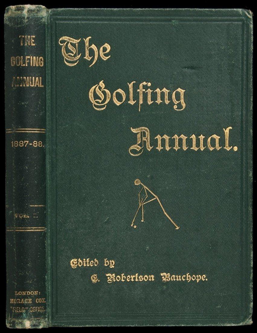 24: Bauchope The Golfing Annual Volume I 1888
