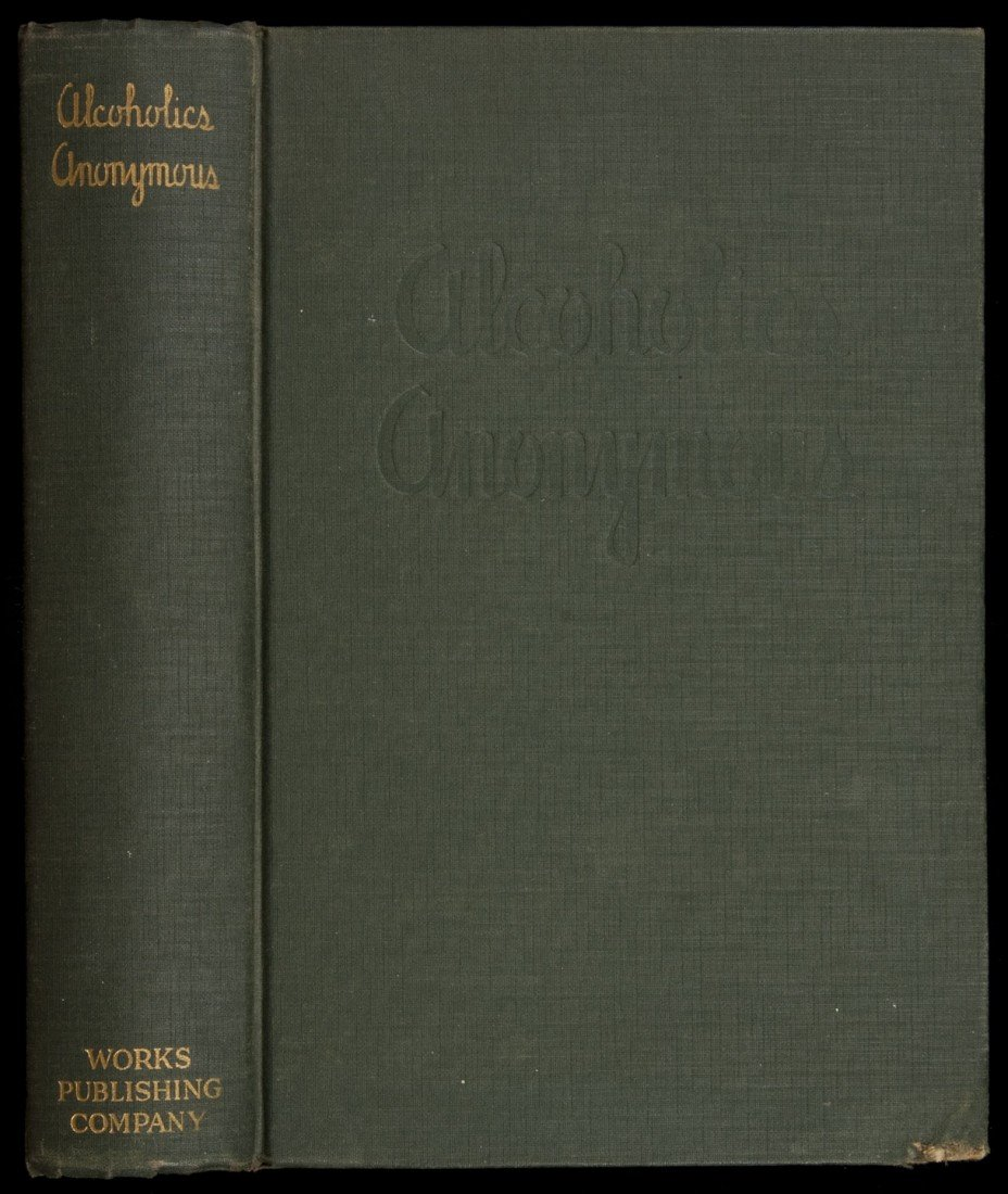 1: Alcoholics Anonymous 1st Edition 4th Printing