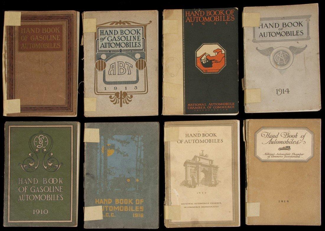 4: Hand Book of Gasoline Automobiles - 12 vols