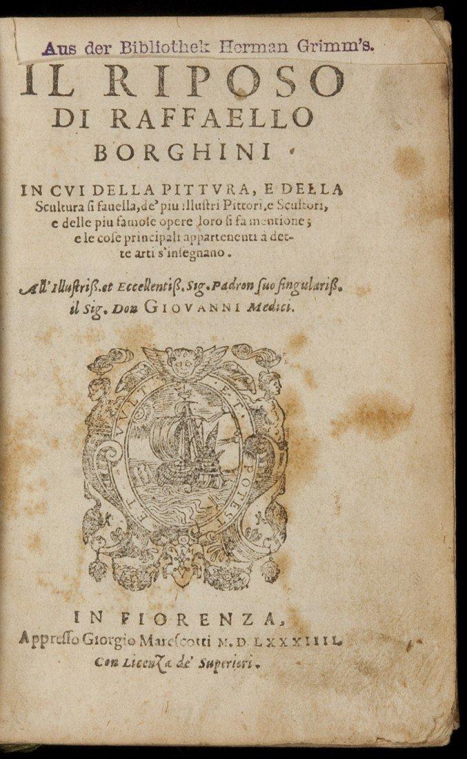 13: Raffaello Borghini Il Riposo 1584