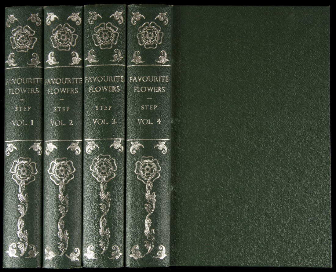 17: Favourite Flowers of Garden complete 4 vols
