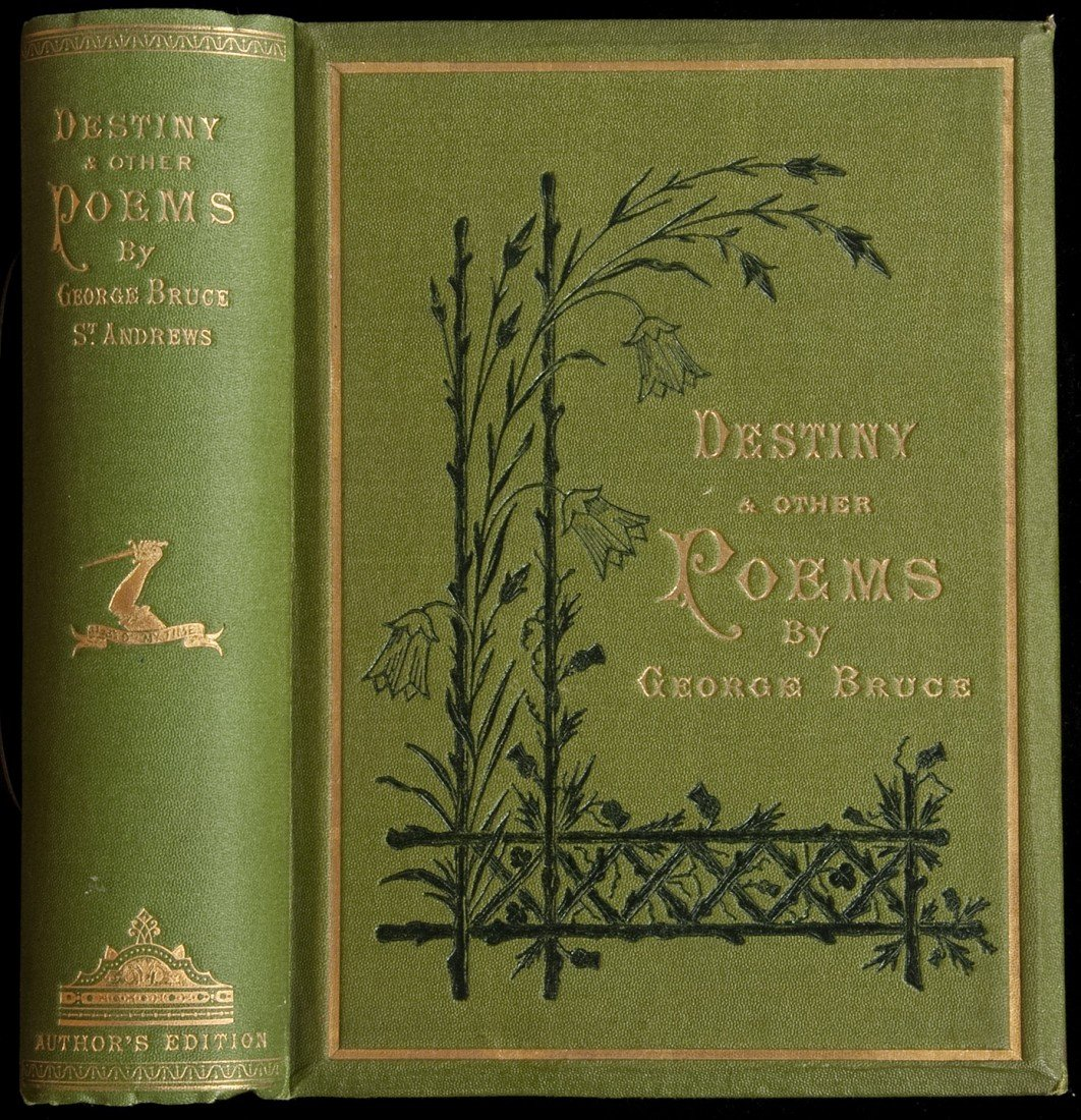 19: Destiny and Other Poems 1876 by Geo Bruce