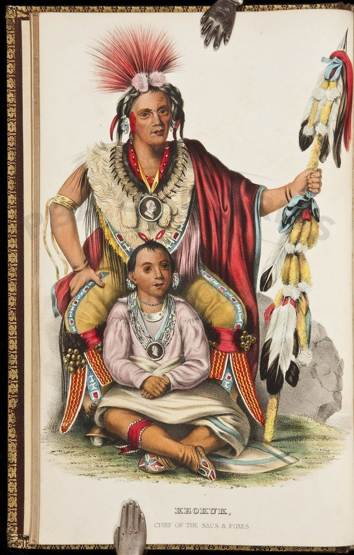 75: McKenney & Hall's Indian Tribes 120 Color-plates