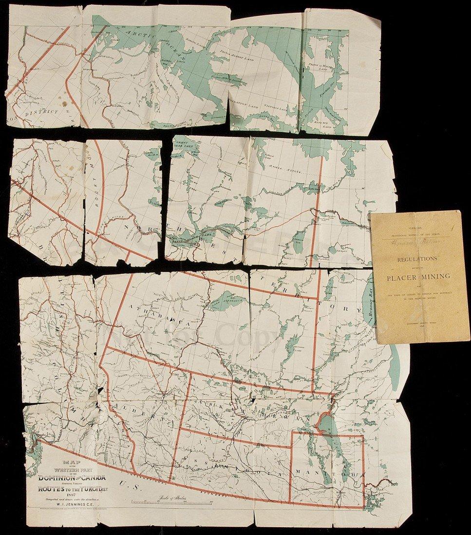 6: Yukon Placer Mining Laws 1898