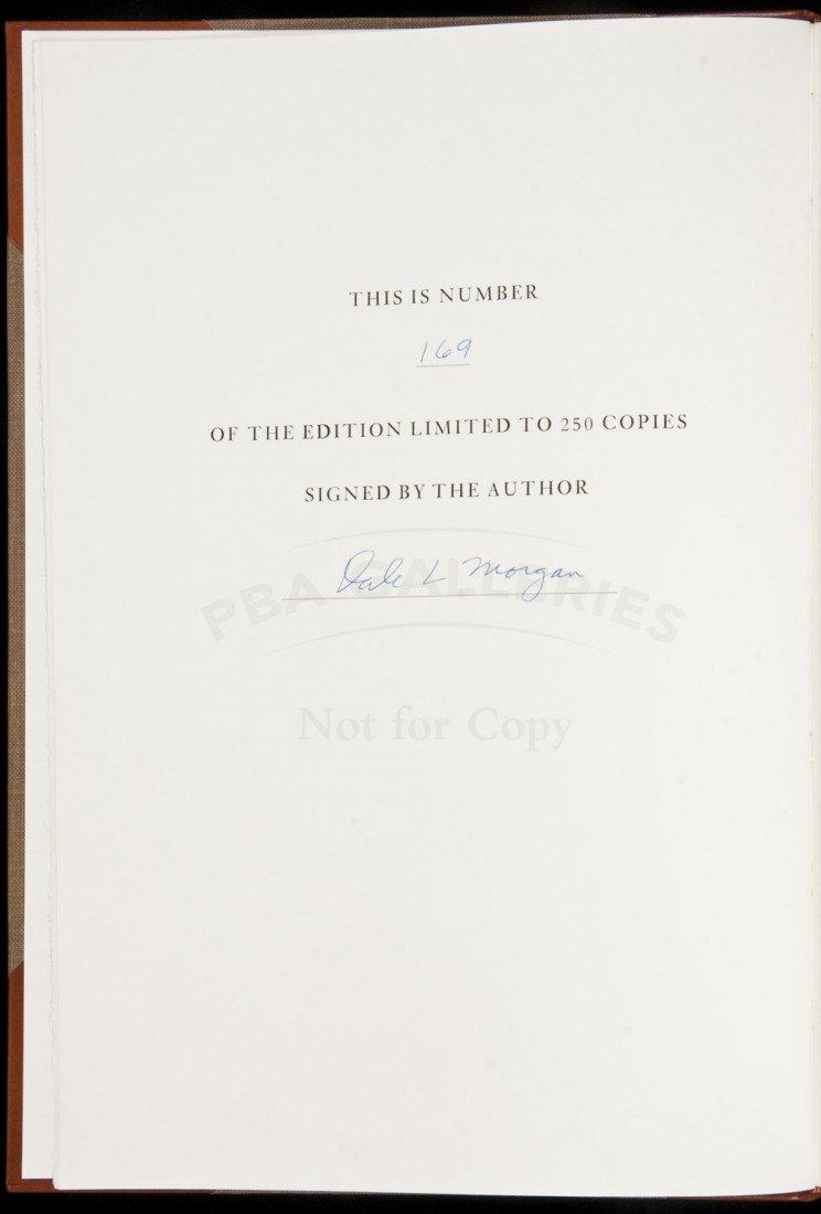 8: West of William H. Ashley delux ed 1/250 signed