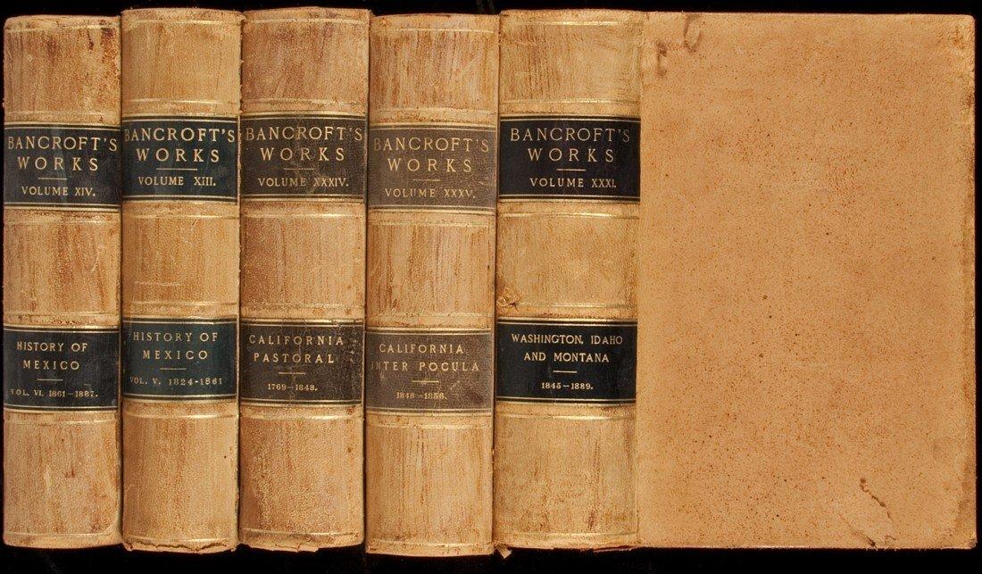 12: Works of Hubert Howe Bancroft 39 volumes