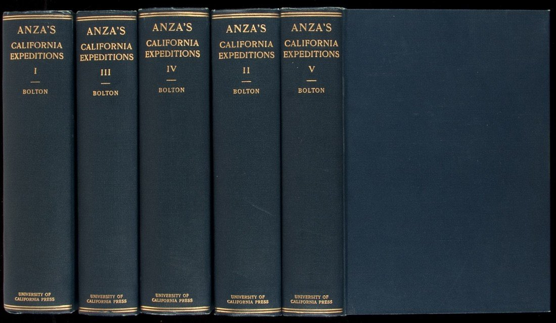 21: Anza's California Expeditions