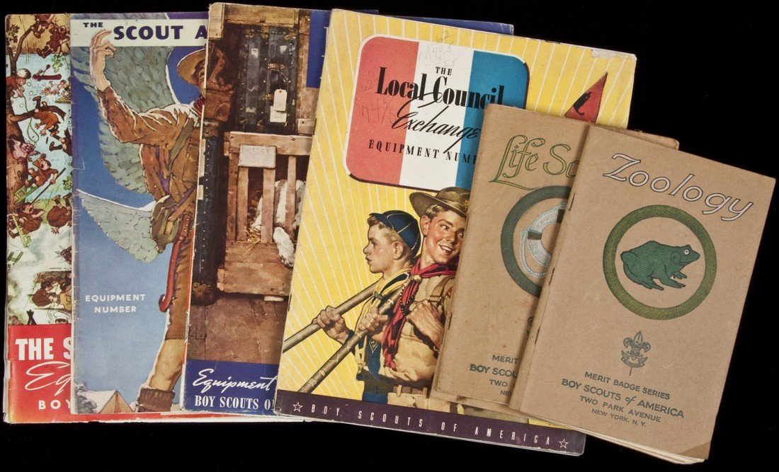 24: 7 vols of Boy Scouts stuff from the 1930s
