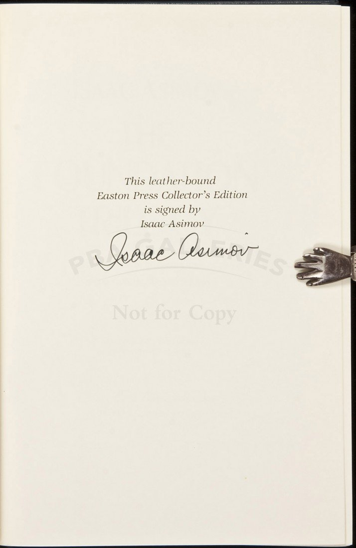 6: The Foundation Trilogy Signed Limited Edition