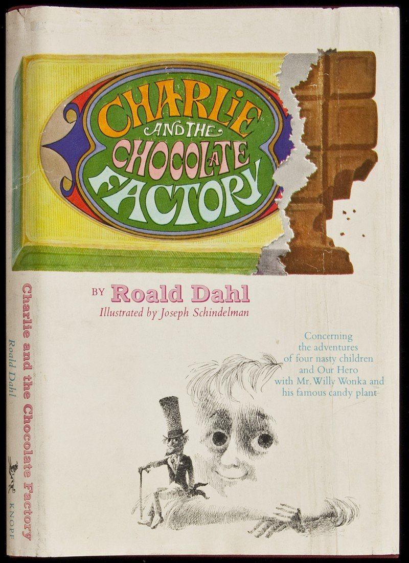 19: Charlie and the Chocolate Factory 1st ussue