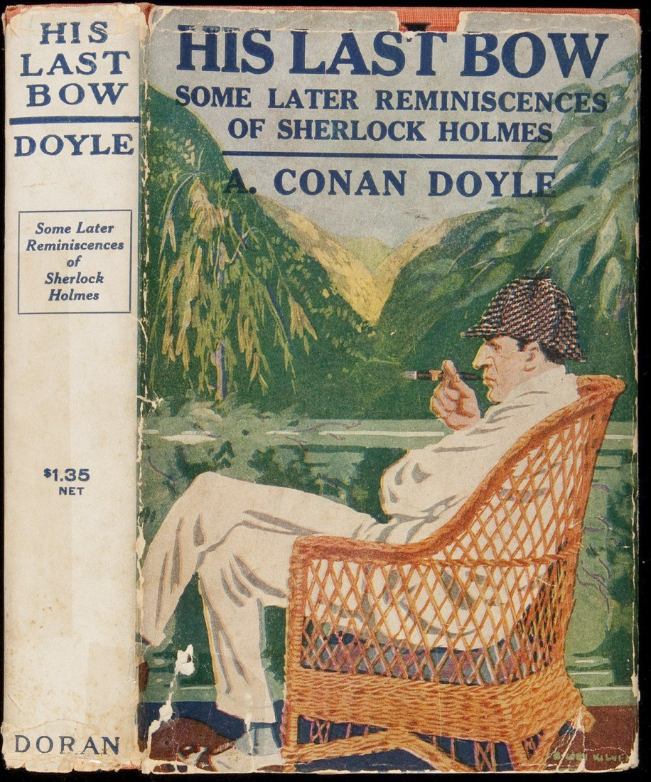 22: A.C. Doyle His Last Bow in dust jacket