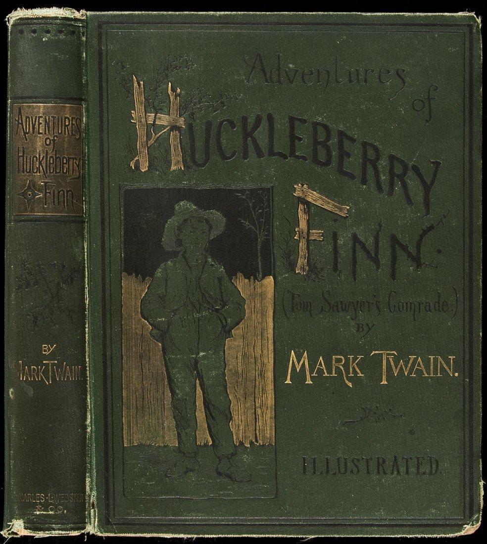 157: Adventures of Huckleberry Finn 1st Edition 1885