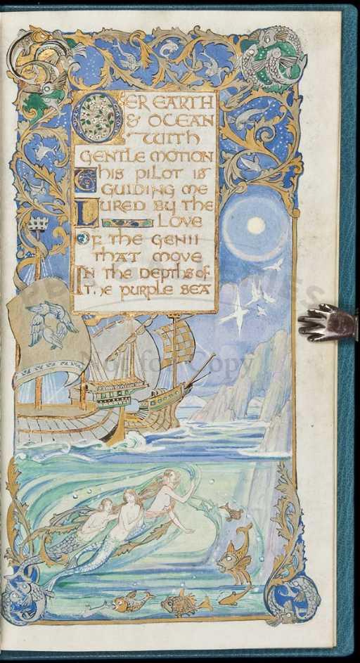 307: Gorgeous Illuminated Manuscript by Jessie Bayes