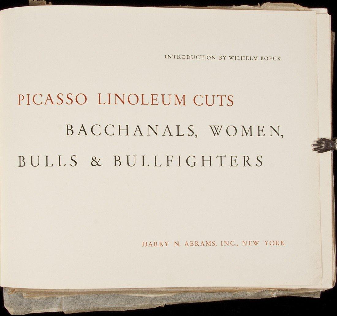 373: Picasso Linoleum Cuts, Harry Abrams 1962 - 2